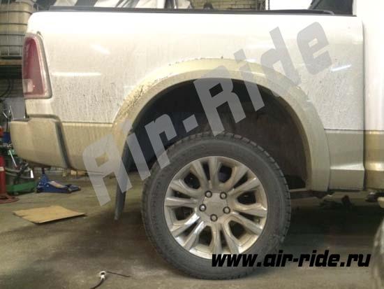 Установка пневмоподвески на Dodge RAM 1500 Long Horne 2013г.в.