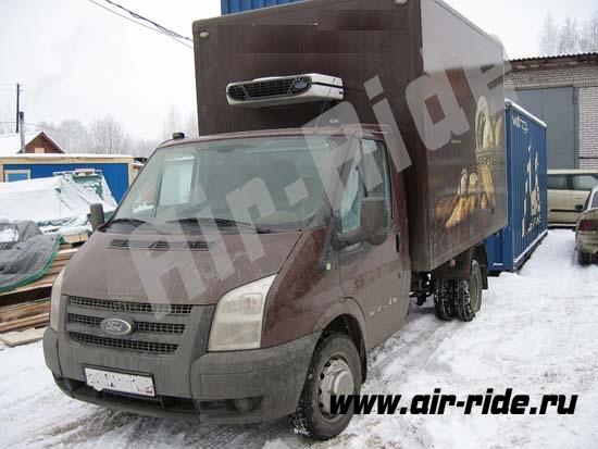 Установка пневмоподвески на  Ford Transit