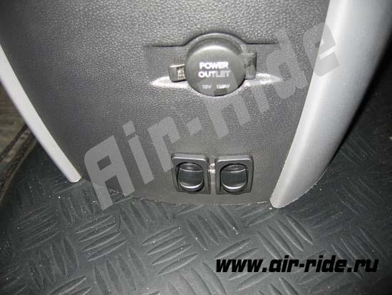 Установка пневмоподвески на Hyundai Grand Starex 4WD 4WD 2012г.