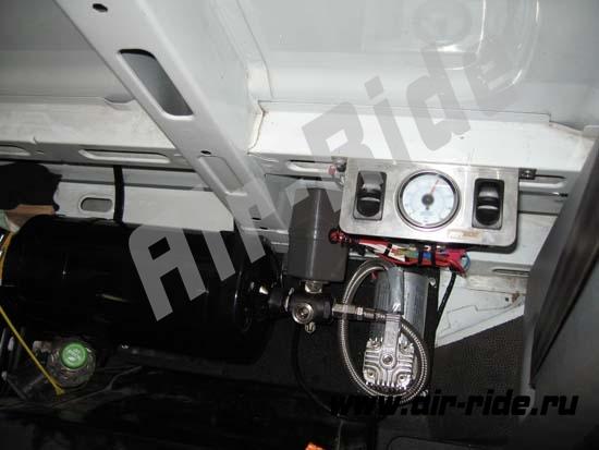Установка пневмоподвески на Renault Master X70 2008г.в.