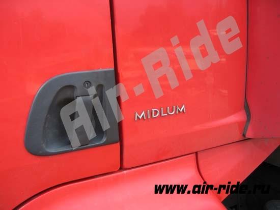 Пневмоподвеска на Renault Midlum