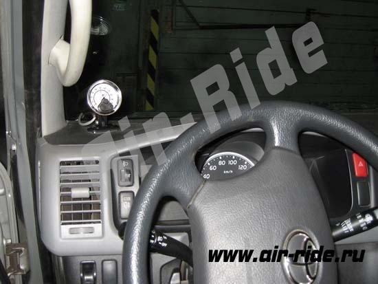Пневмоподвеска на Toyota HiAce