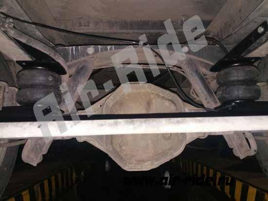 Установка пневмоподвески на Iveco Daily 40c15 последнего поколения
