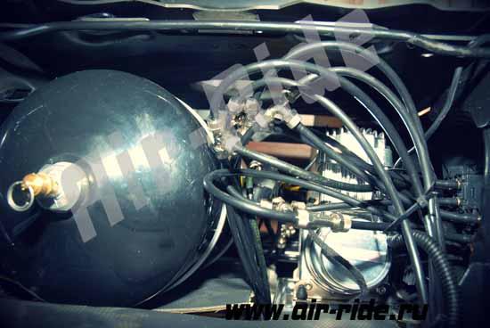 Пневмоподвеска на Peugeot Boxer 2014