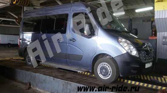 Пневмоподвеска на пассажирский микроавтобус