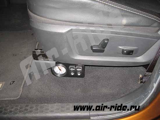 Пневматическая подвеска на Dodge RAM 1500 2013