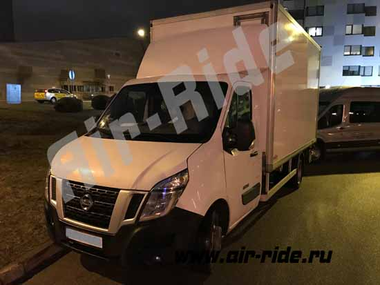 Пневма на Nissan Interstar X62 2016
