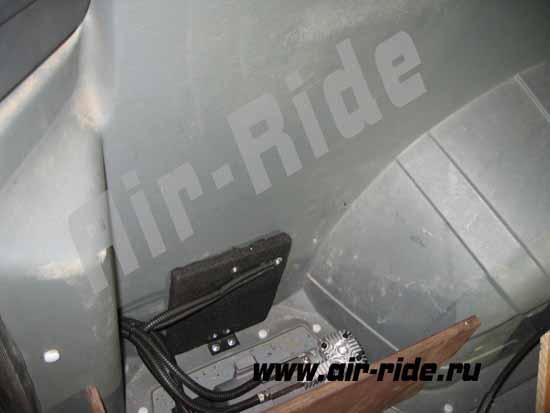 Пневмоподвеска на Peugeot Boxer 2014 г.в. микроавтобус